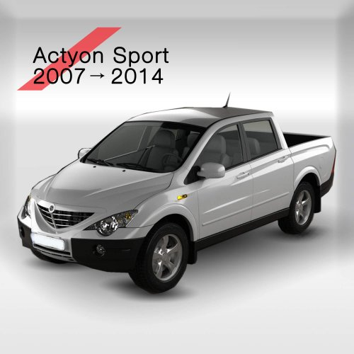 SsangYong Actyon Sports 2007->2014